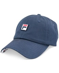 Fila Logo Patch Hat Navy