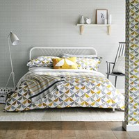 Scion Lintu Duvet Cover Dandelion And Pebble Yellow