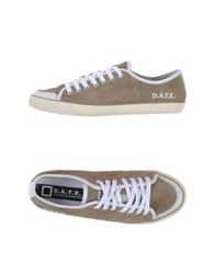 D.A.T.E. Low Tops And Trainers Dark Blue
