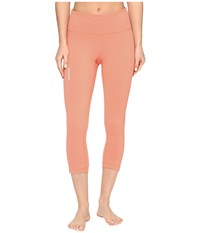 Columbia Trail Flash Capri Pants Lychee Light Coral Women's Capri Orange