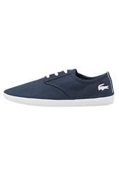 Lacoste Malahini Deck Trainers Navy White Blue