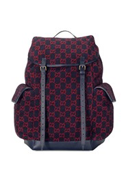 Gucci Large Gg Pattern Backpack 60
