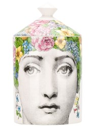 Fornasetti Fragrance Candle White