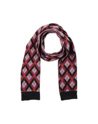 Scotch And Soda Accessories Oblong Scarves Men Maroon