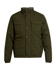 The North Face Red Label Hoodoo Funnel Neck Down Coat Green