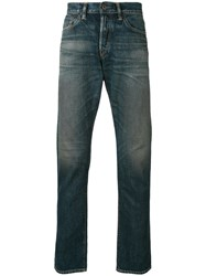 Simon Miller Slim Fit Jeans Men Cotton 33 Blue