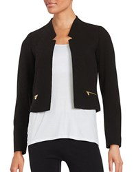 Calvin Klein Dot Textured Blazer Black