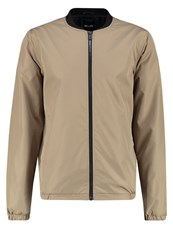 Only And Sons Onsnorm Bomber Jacket Lead Gray Grey
