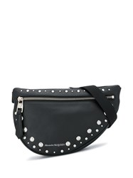 Alexander Mcqueen Stud Embellished Belt Bag Black
