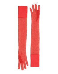 Maison Martin Margiela Mm6 By Gloves Red