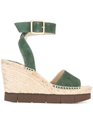 Paloma Barcelo Lisette Sandals Green