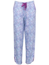 Cyberjammies Elsie Spot Print Pyjama Bottoms Blue Purple