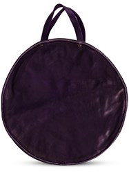 Guidi Round Shaped Shoulder Bag Pink And Purple