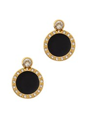Ca And Lou Alma 24Kt Gold Plated Earrings