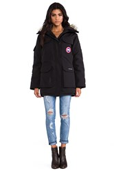 Canada Goose Expedition Parka With Coyote Fur Trim Black