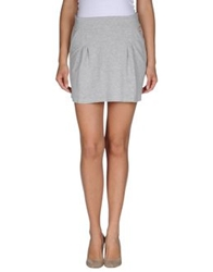 Paul Frank Mini Skirts Light Grey