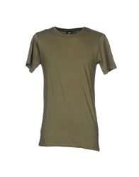 Dr. Denim Jeansmakers T Shirts Military Green