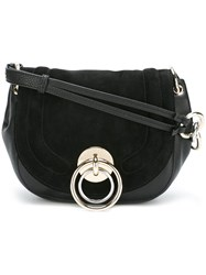 Diane Von Furstenberg Medium Satchel Bag Black