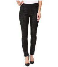 Calvin Klein Spackled Compression Pants Black Women's Casual Pants
