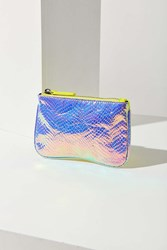 Urban Outfitters Faux Snake Pouch Pink