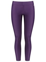 Blue Man Sports Leggings Pink Purple