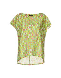 Laura Urbinati Blouses Light Green