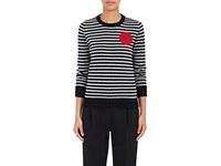 Lisa Perry Women's Dot Cashmere Sweater Black