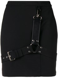 Alyx Bondage Mini Skirt Black