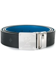 Mcm Buckled Belt Black
