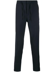 Manuel Ritz Drawstring Skinny Trousers Blue