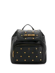 Love Moschino Studded Quilted Backpack 60