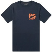 Paul Smith Chest Logo Tee Blue
