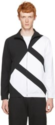 Adidas Originals Black And White Eqt Bold Track Jacket