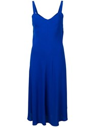 Jovonna Slip Dress Blue