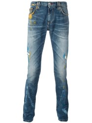 Philipp Plein So Wrong Jeans Blue