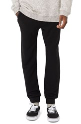 Topman Men's Ribbed Zip Pocket Jogger Pants