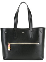 Paul Smith Double Strap Large Tote Black