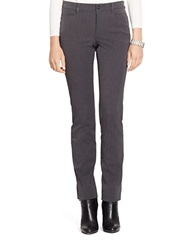 Lauren Ralph Lauren Stretch Skinny Dress Pants Grey