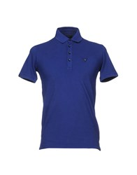 Guess Polo Shirts Blue