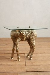 Anthropologie Little Lamb Side Table Brown