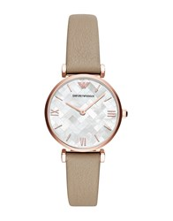 Emporio Armani Wrist Watches Beige