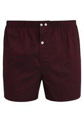 Gap Oxford Boxer Shorts Garnet Bordeaux