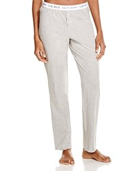 Ralph Lauren Rib Essentials Pajama Pants Heather Gray