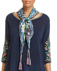 Johnny Was Collection Horizon Print Scarf Multi