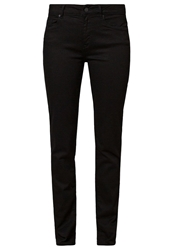Esprit Straight Leg Jeans Absolute Black Black Denim