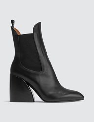Chloe Wave Chelsea Boots Black