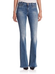 Mih Jeans Marrakesh High Rise Flared Jeans Bee Wash