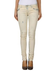 Dondup Denim Pants Beige
