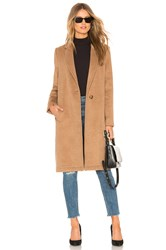 Cupcakes And Cashmere Fayola Duster Coat Brown