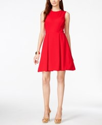 Inc International Concepts Sleeveless Fit And Flare Dress Only At Macy's